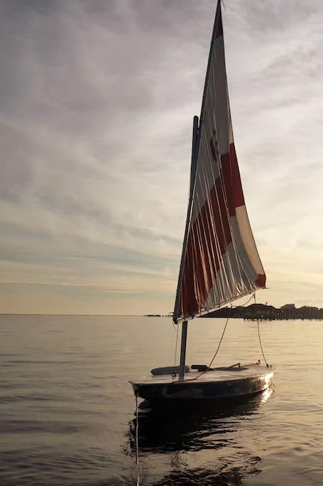 "The ""Dao"" of sailing: Sunfish!"