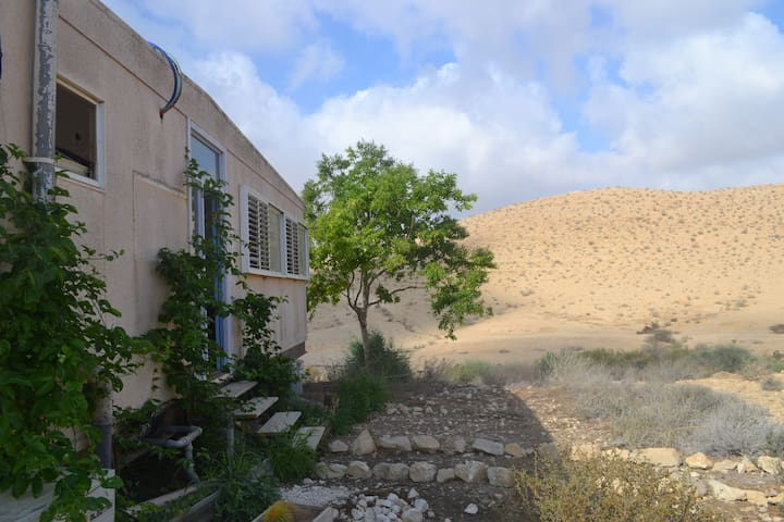 Goat farm apartment - gorgeous desert view! - Sde Boker - Appartement