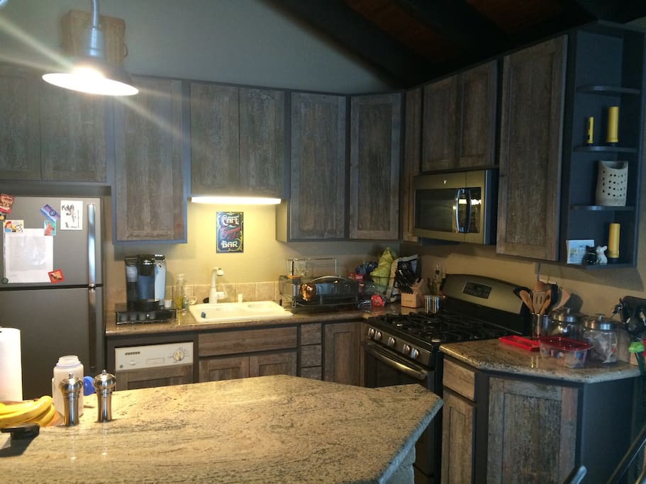 New appliances with eat at bar