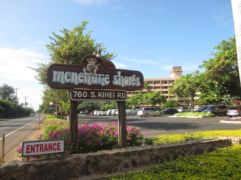 Entry sign from S. Kihei Road
