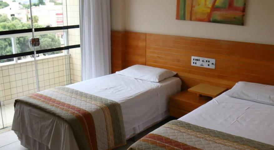 Apartamentos completo com conforto e segurança