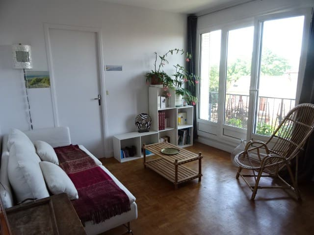 2 pièces avec balcon, proche paris et RER A - Saint-Maur-des-Fossés - Apartament