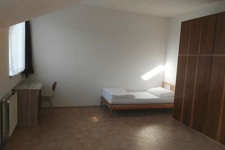 3 velké pokoje student. typu ideál pro cestovatele - Poděbrady - House