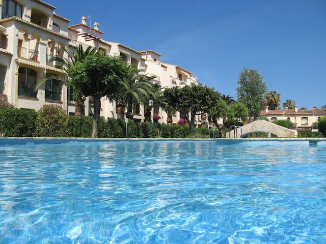 1 Bed Apt, Pool, WIFI, 5 mins beach - Javea - Apartemen