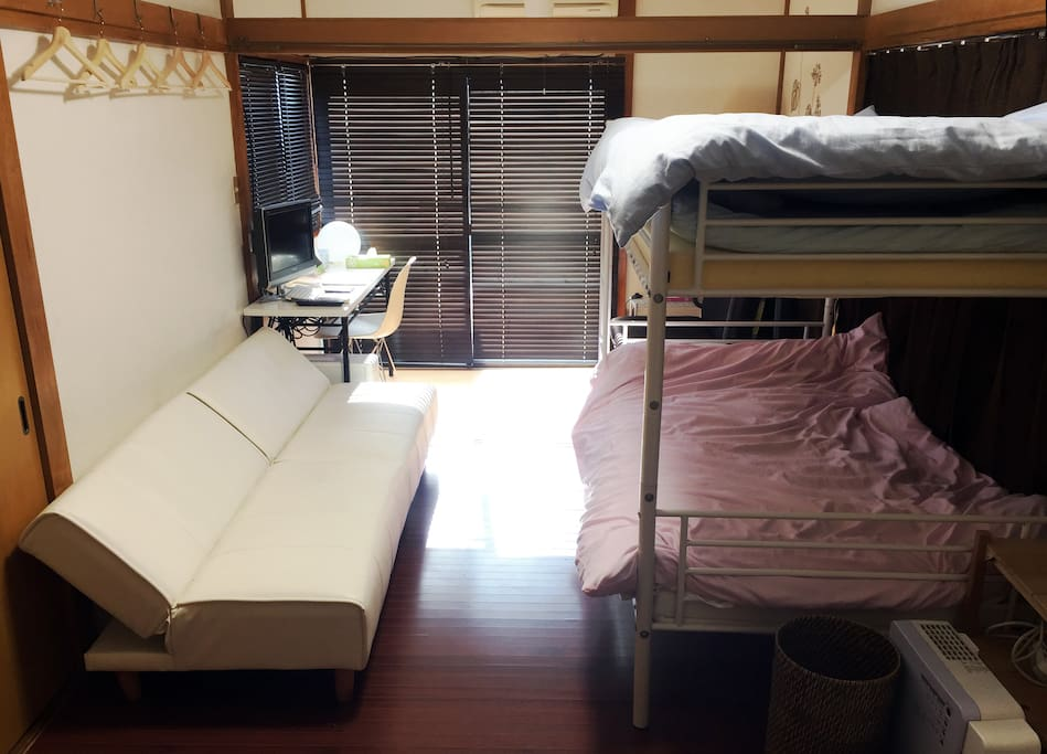 Bright room facing south