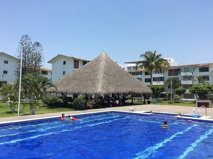 Hotel zone 300 meters from the beach