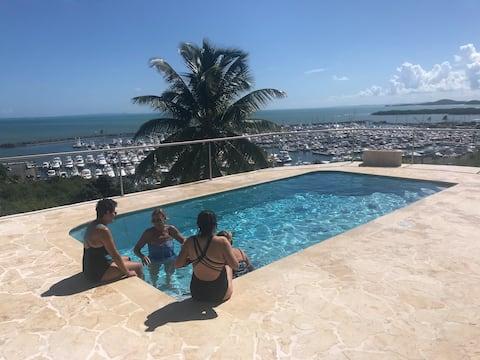 VISTAMAR- Stunning Caribbean views & private pool!