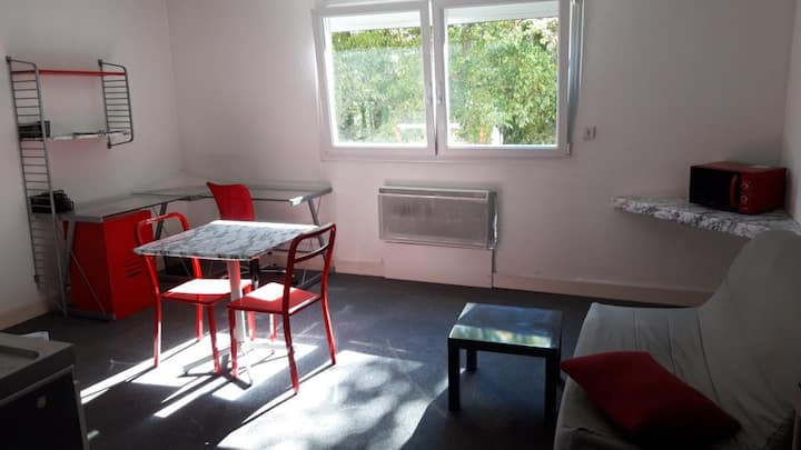 Grand Studio meublé Brabois (proche CHU)