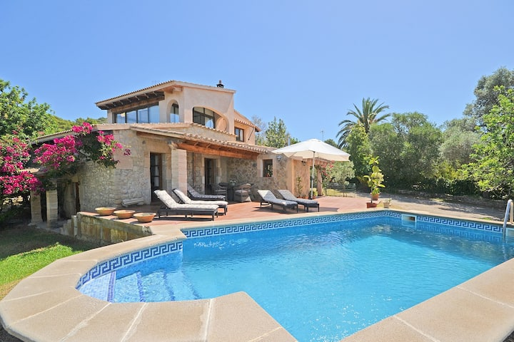 CAN SINGA - Country house with swimming pool  in Alcúdia