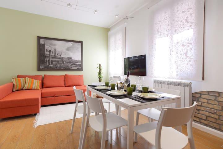 Venice Murano Flat wifi a/c - Veneza - Apartamento
