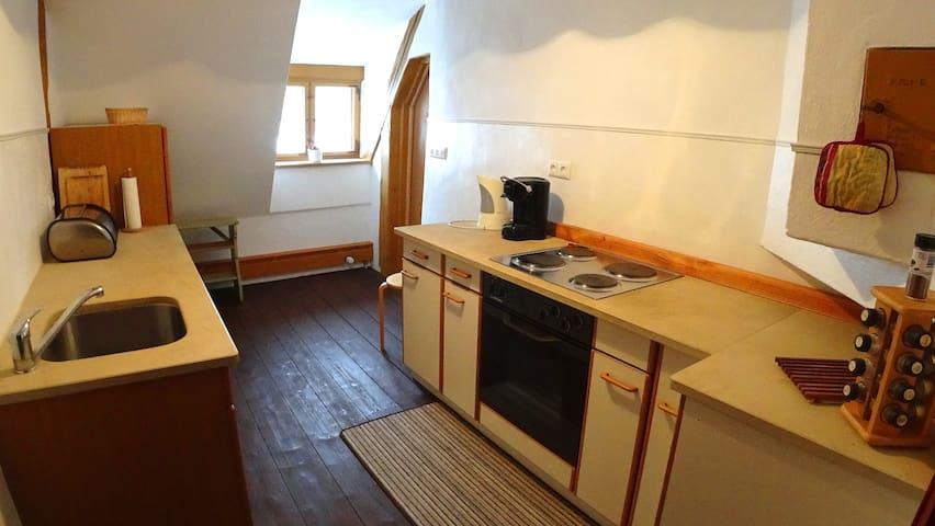 Vollausgestattete Küche inkl. Spülmaschine