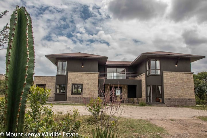 Villa in the Wild, Mount Kenya Wildlife Estate #48