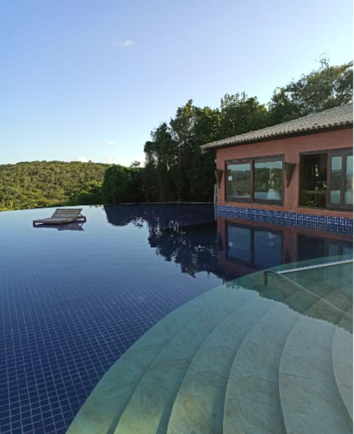 Bangalô de Luxo em um paraíso natural!