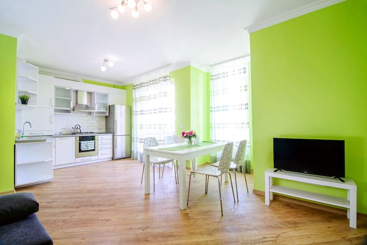 Modern apartment in 10 min away from city center