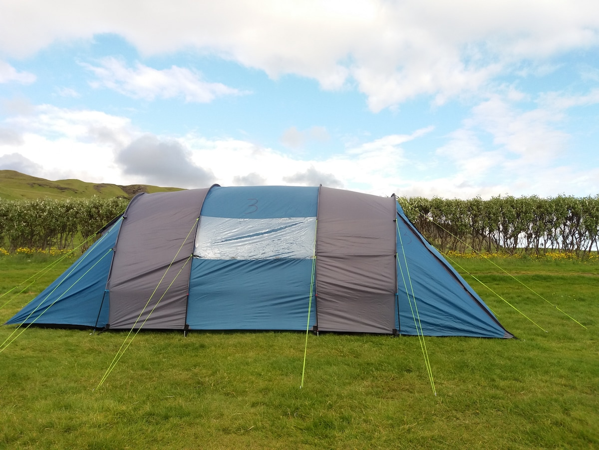 View Photos & Camp by Skogafoss in a Nice u0026 Spacious Tent -# 3 - Tents for Rent ...
