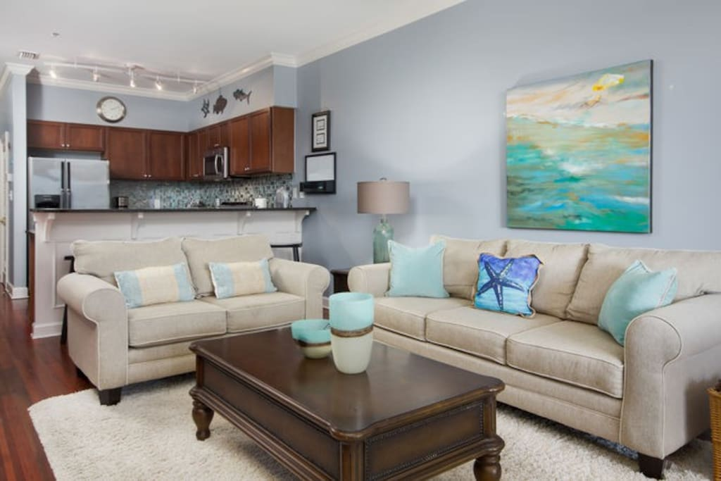 Open, generous floor plan that allows everyone to spend time together on their vacation making GREAT memories