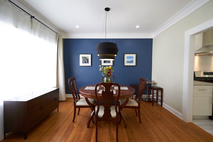 Remodeled Family-Friendly Two-Bedroom Flat