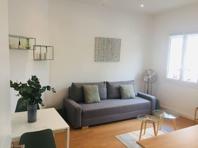 Modern apartment in the port of Nice
