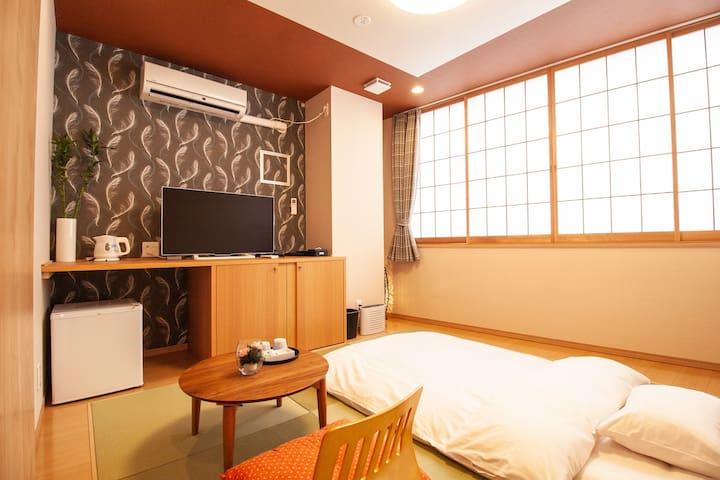 なごみ ホテル (NAGOMI HOTEL NIPPORI) - 和室ツインルーム