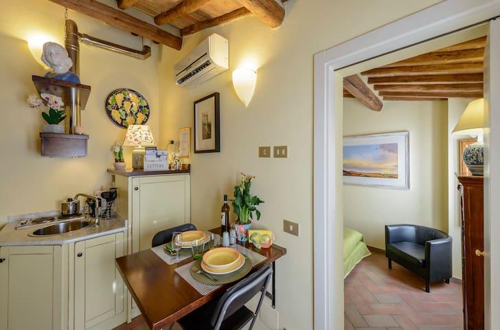 """""""La Rocca Romantica"""" in the heart of San Gimignano"""