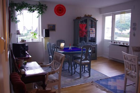 Bright & spacious appartment near to the centre - Ystad