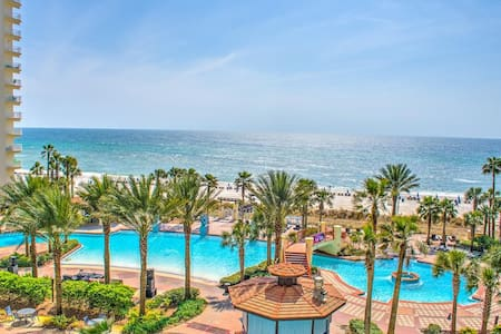 Shores of Panama 513-1BR+Bnk-$99/Nt thru Winter!-RealJoy FunPass SNOWBIRDS $1150/Mo+D/T/F - Panama City Beach