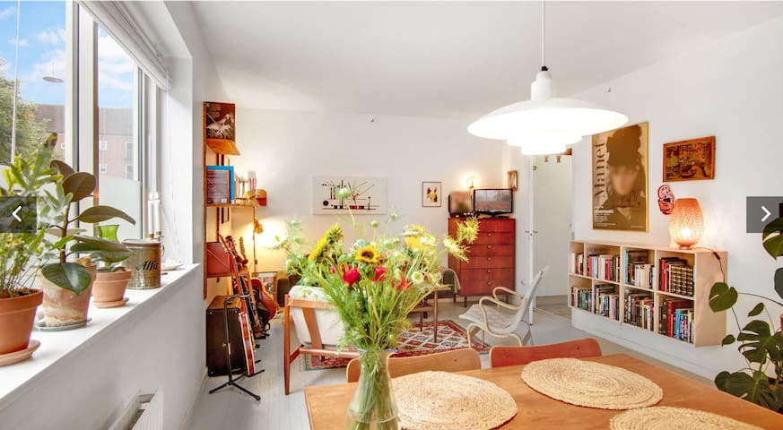 Cozy apartment in the heart of Nørrebro.