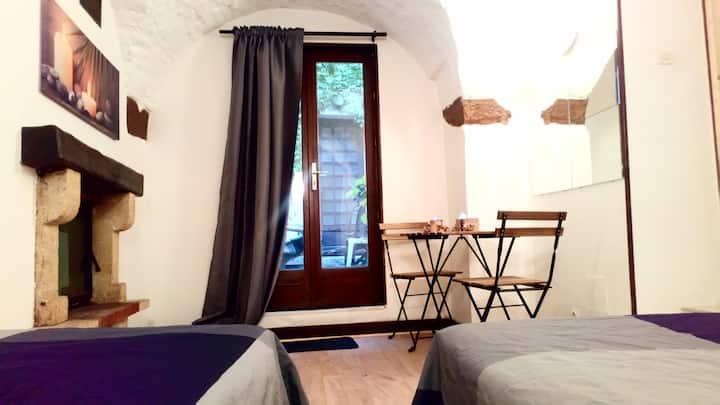 L'Envoutante, chambre dans appartement partagé
