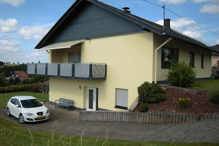 Peaceful Apartment in Morbach-Morscheid with Terrace, Garden