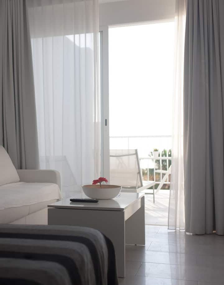Sol Playa Suite with beach views