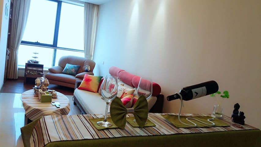 佛山祖庙地铁/恒安瑞士大酒店/酒店式公寓/岭南新天地 - Foshan - Service appartement