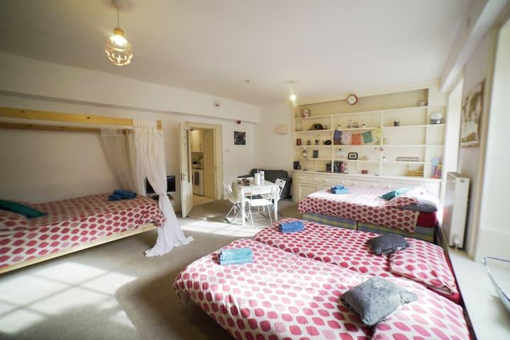 Large Studio Flat in Clifton, Bristol 7 PAX Max
