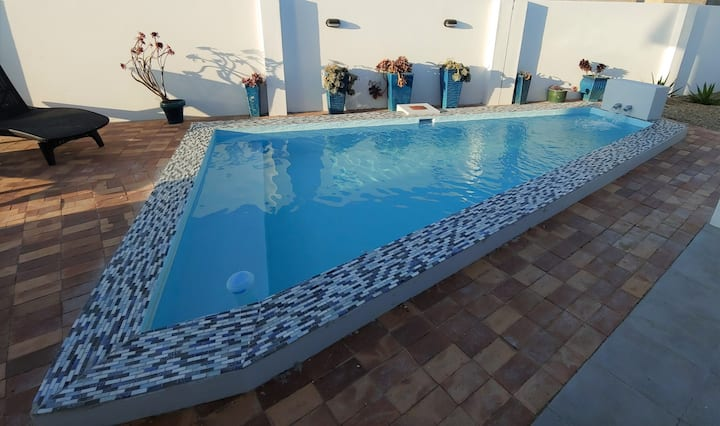 2221 Beach house with pool in Private beach estate