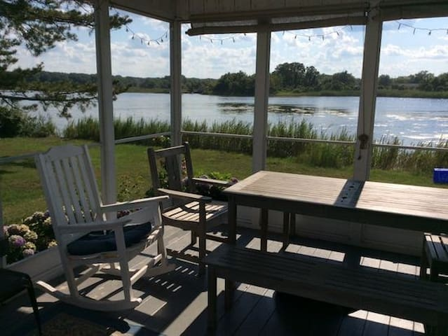 5BR Pond Front Vacation Home, at Egypt Beach