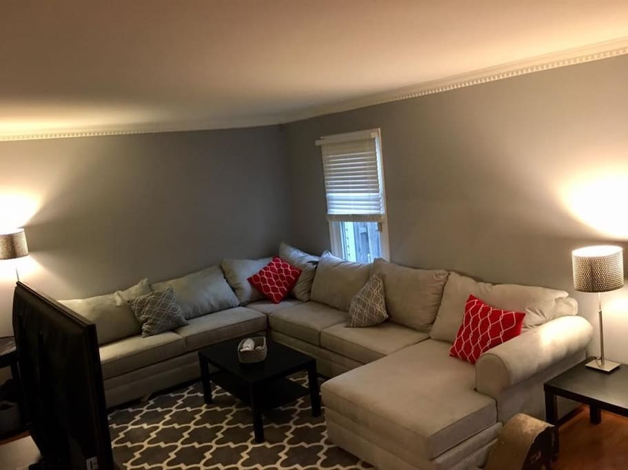 Living room on main floor.