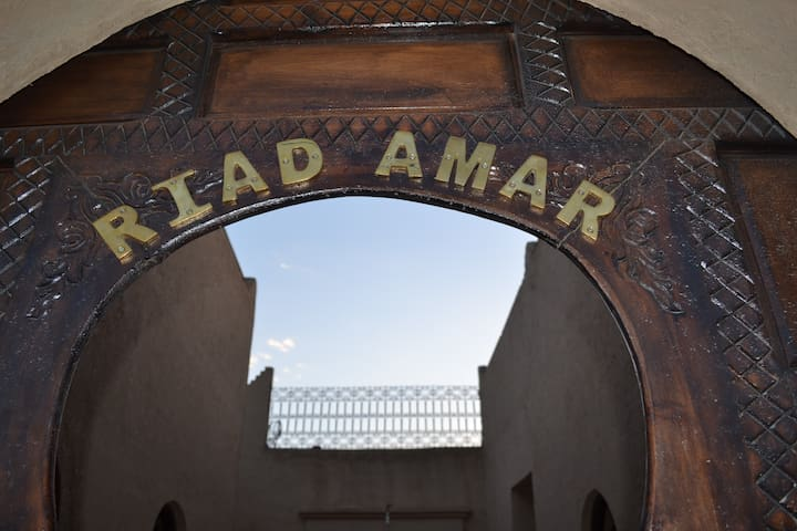 Welcome in Riad Amar
