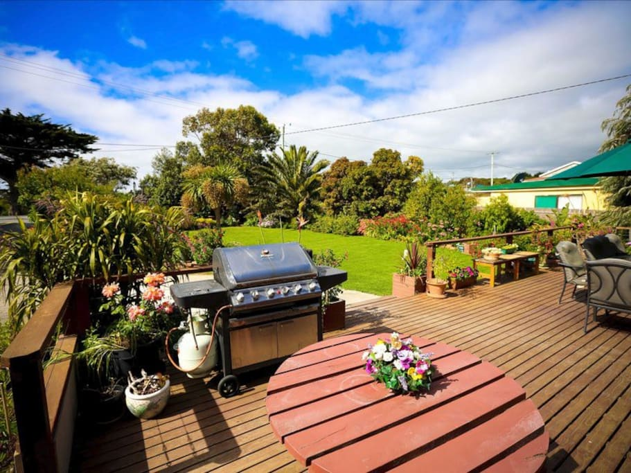 BBQ & Outdoor Dining Area