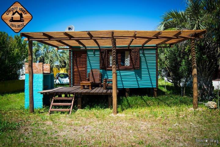 Cabaña para 4 personas - Aguas Dulces - Hus