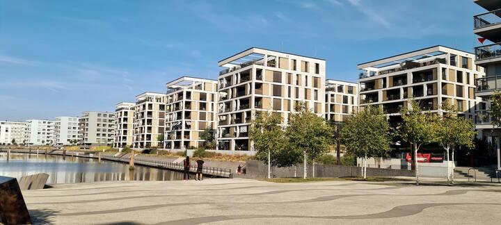 Stylische Wohnung direkt am Hafenbecken