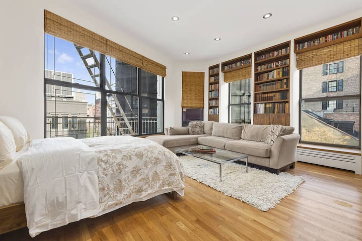 Private Floor in SOHO Townhouse - New York - Casa