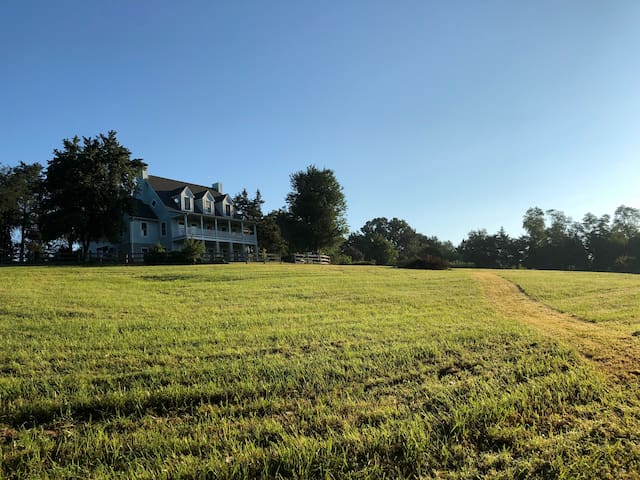 Solstice Farm House, with beautiful South facing verandah, and mountain views to the North West. Heaven on Earth!