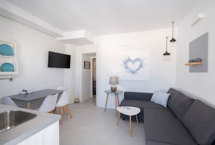SALTY2 Brand New 1BD apar in the heart of Naousα