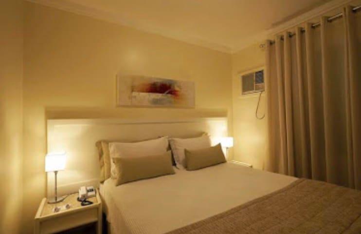 Flat no Itaim, excelente acomodação e localização