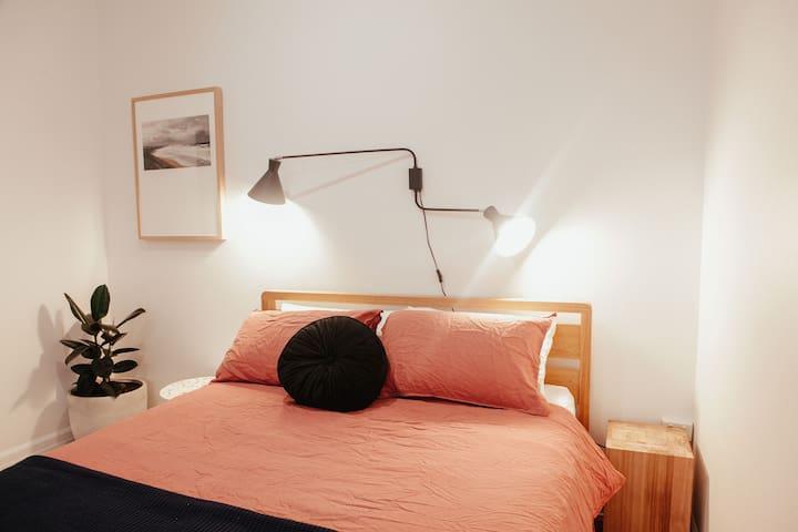 Second Bedroom. Queen Bed.
