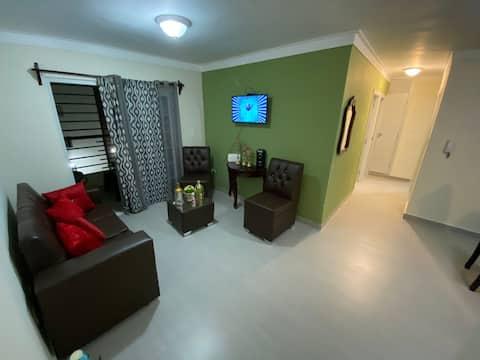 Apartamento familiar cómodo y muy privado excelent