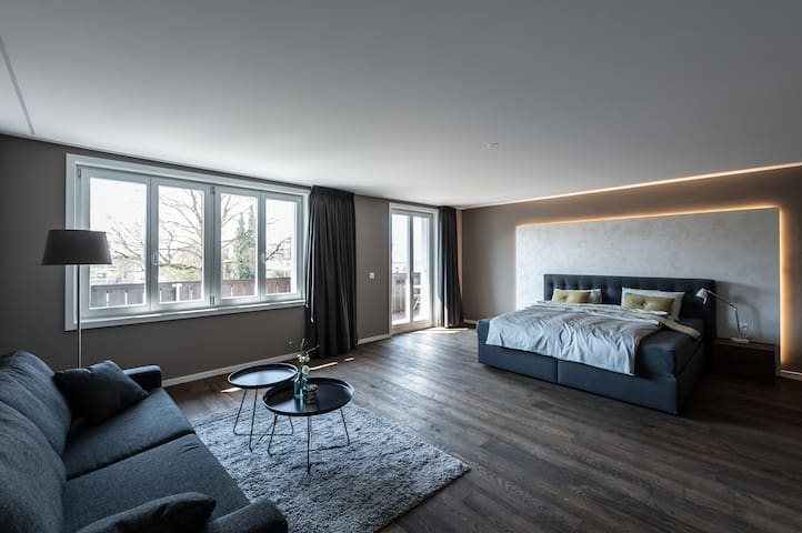 Junior Suite/ Familienzimmer im Guesthouse Wolke 4
