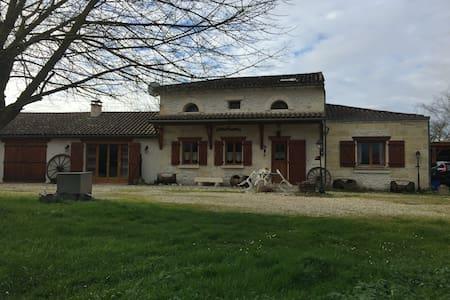 maison en pierre à la campagne - Moulis-en-Médoc - Ház