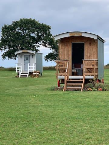 Greenbarns shepherds huts