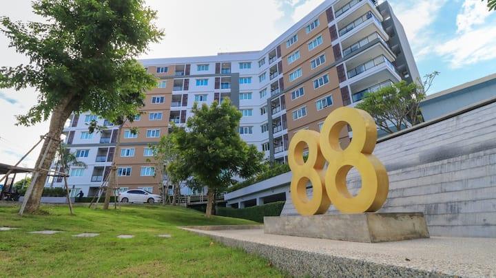 The 88 Condo Hua-Hin, One bedroom 41 Sq.m.