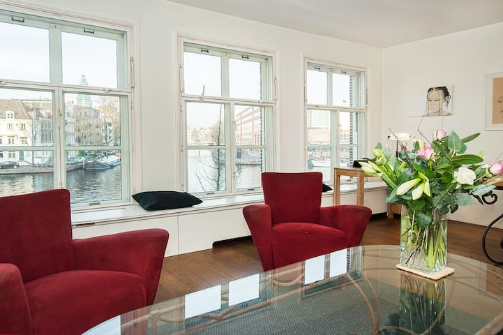 Amstel View Canal House - Amsterdam - Daire